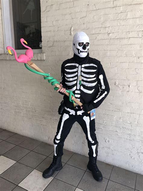 skull trooper cosplay  wore saturday  pensacon fl
