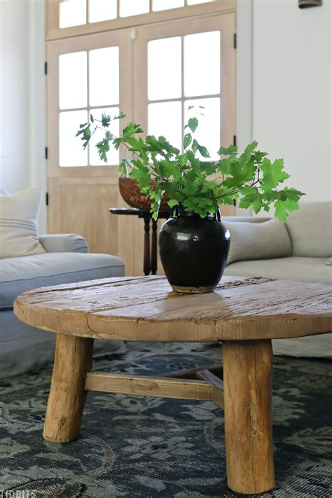 Style a coffee table right, though, and it can be a real statement piece. How to Style a Round Coffee Table | 3 Ideas! - Tidbits