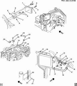 1997 Chevrolet Bolt  Engine Mounting  Hood Latch  Hood