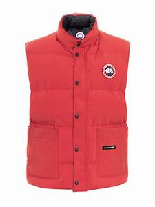 Canada Goose Freestyle Quilted Gilet In Red For Men Lyst