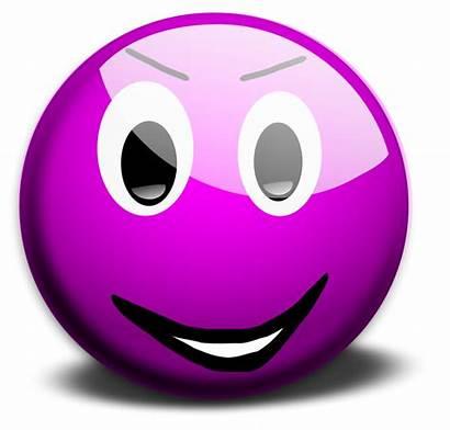 Smiley Face Clipart Emoticon Purple Clip Transparent