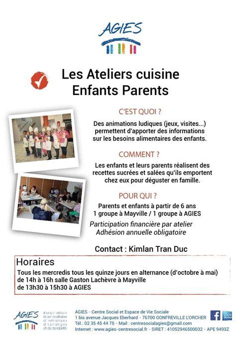 atelier cuisine parents enfants 1 enfant atelier parent enfant 100 images atelier