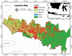 Bali Tsunami Zone Map