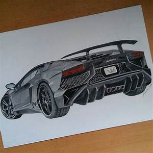 Lamborghini aventador colored pencil drawing by: @art.by ...