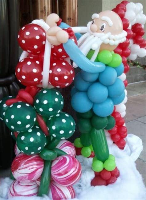 adorable christmas balloon decor ideas