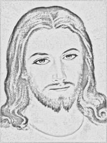 Easy Sketch Drawings of Jesus Face