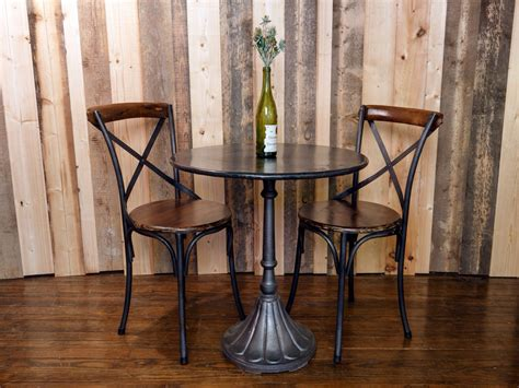 small bistro table set small indoor bistro table set woodworking diy project