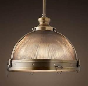 Clemson prismatic single pendant restoration hardware is