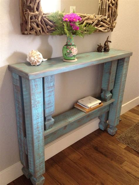 small white entry table finished narrow entryway table foyer pinterest