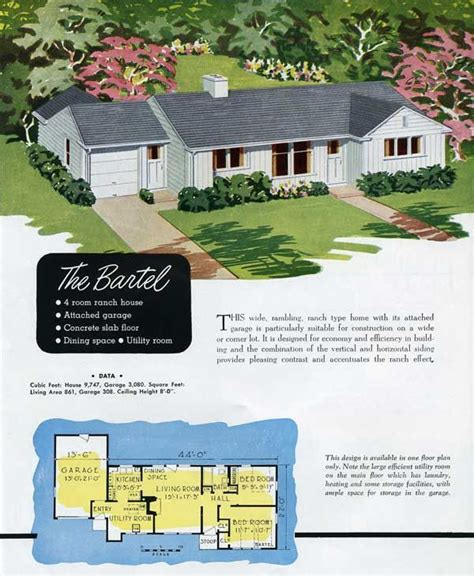 national homes  bartel house plans  pictures simple house plans vintage house plans