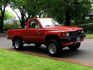 1986 Toyota Pickup 4x4 Regular Cab 4 U0026 39 Cyl 22re All Factory