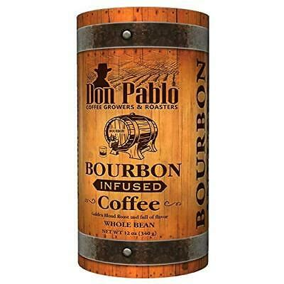 Working hard to bring you the best arabica #coffee at an affordable price! 12oz Don Pablo Bourbon Infused Specialty Coffee (12 Ounce ...