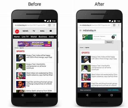 Chrome Android Google Web Data Pages Phone