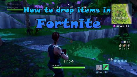 drop items  fortnite battle royal  mode