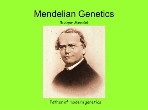 of modern genetics gregor mendel friends images