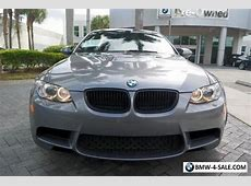 2013 BMW M3 Base Coupe 2Door for Sale in United States