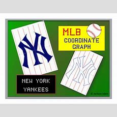 New York Yankees  Mlb Coordinate Graph By Jmare  Teaching Resources Tes