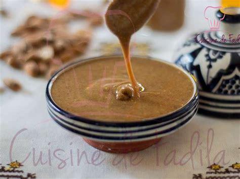 huile d argan cuisine recettes de pâte à tartiner de cuisine de fadila