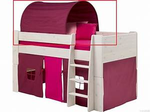 Tunnel Für Bett : betttunnel f r hochbett purpur nische 74cm steens for kids baldachin k23 b1 ~ Whattoseeinmadrid.com Haus und Dekorationen