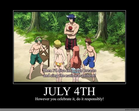 July 4th Memes - july 4th anime meme com