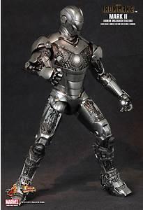 HOT TOYS 1/6 MARVEL IRON MAN 2 MMS150 MK2 MARK II ARMOR ...