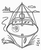 Coloring Boat Pages Speed Simple Transportation Drawing Printables Wuppsy Boats Printable Motor Water Raft Toddlers Sheets Truck Getcolorings Yacht Cartoon sketch template