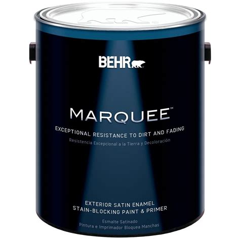 behr marquee 1 gal medium base satin enamel exterior