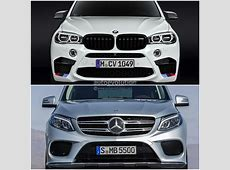 Photo Comparison BMW F15 X5 vs MercedesBenz GLE