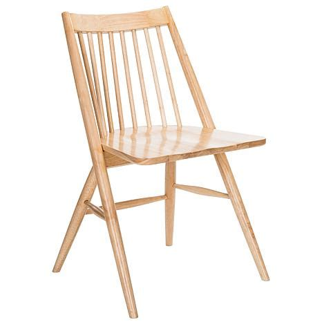 safavieh wren 19 quot spindle dining chair 8537624 hsn