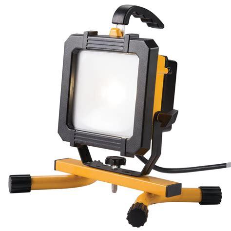 home depot led work light all pro 2500 lumen led portable work light wl2540lp the