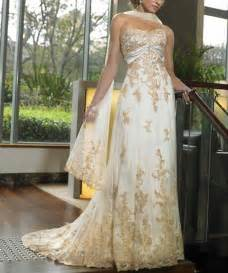 gold wedding dresses wedding gold bridal gown collection
