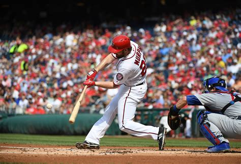 washington nationals cubs baseball bat ball ct national fans chicago brain
