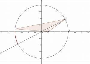 geometry - Geometric Probability- Circle and two points ...