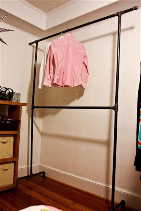 25 best ideas about pipe clothes rack on