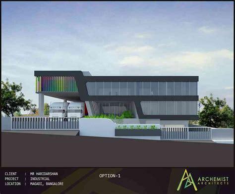 factory  magadi  archemist architects architect  bangalore karnataka india