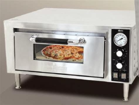 Countertop Baking Oven by Omcan 120v 18 Quot Single Chamber Countertop Pizza Baking