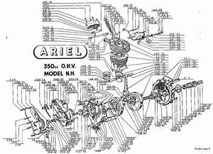 1958 Ariel Square Four Mk Ii And Ariel Motorcycle History