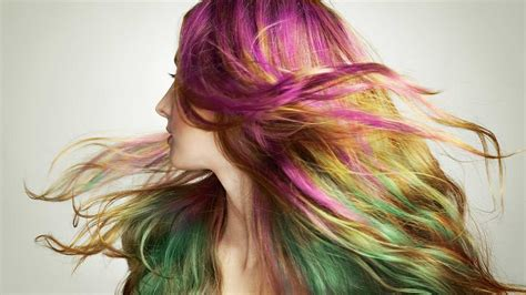 Colors To Dye Hair how to dye your hair with semi permanent hair color l