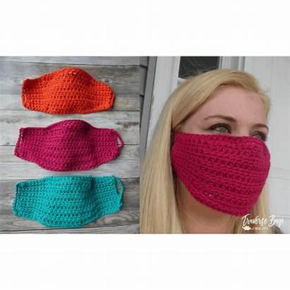 Mask Face Crochet Easy Filter Pattern Headband