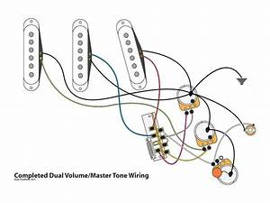 dual volume master tone strat wiring mod youtube With strat wiring mods