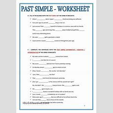 Past Simple  Worksheet  Reading Lessonplan  English Grammar Worksheets, English Grammar