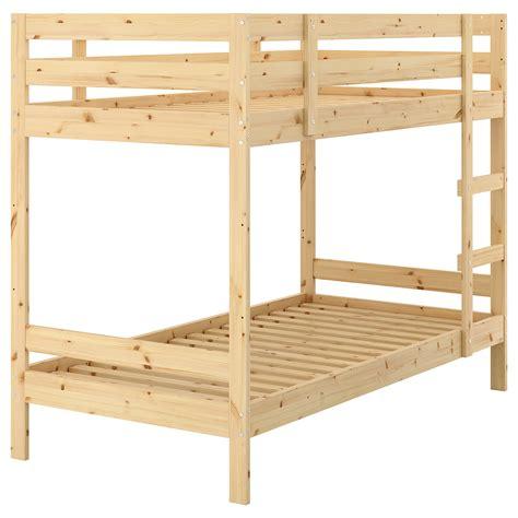 futon bunk bed ikea mydal bunk bed frame pine 90x200 cm ikea
