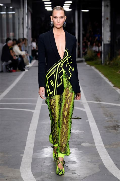 Karlie Kloss Walks the runway during the Off White show as ...