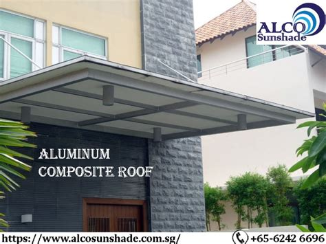 aluminum composite panel roofing singapore alco sunshade roofing roof installation roof design