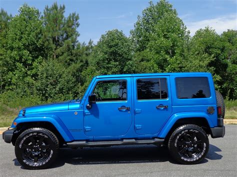hydro blue jeep new jeep wrangler sahara hydro blue autos post