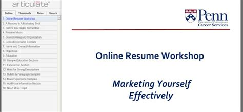 Penn State Resume Workshop by How To Write A Resume With The Help Of 8 School Guides