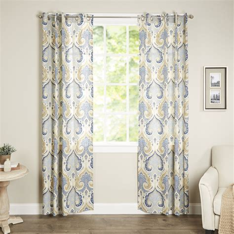 echo design jaipur single curtain panel reviews wayfairca