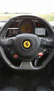 Ferrari 458 Italia 2010-2015 interior   Autocar