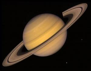 Voyager - Images Voyager Took of Saturn
