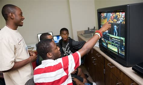 young black males learning  video games dml central